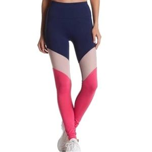 C & C California Mesh Colorblock Legging, Large